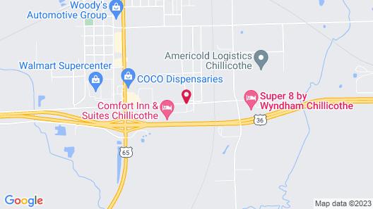 Fairfield Inn & Suites Chillicothe Map
