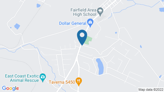 The Fairfield Lodge Map