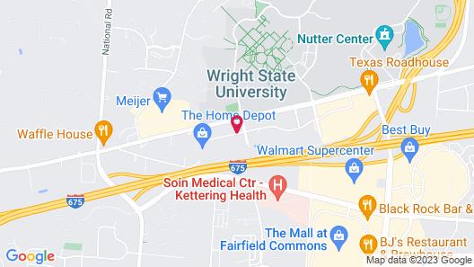 Wingate by Wyndham Dayton - Fairborn Map