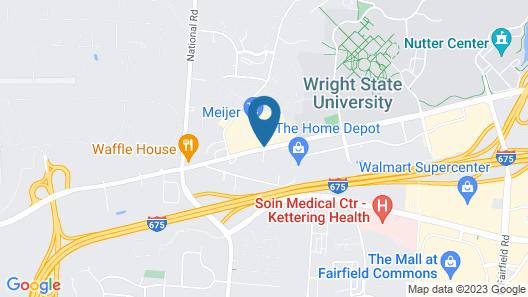 Tru by Hilton Beavercreek Dayton Map