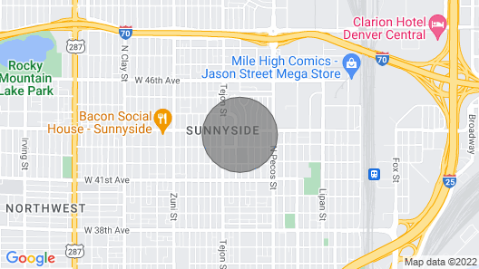 Loftium Perfectly Located Suite In the Heart of Sunnyside! Map