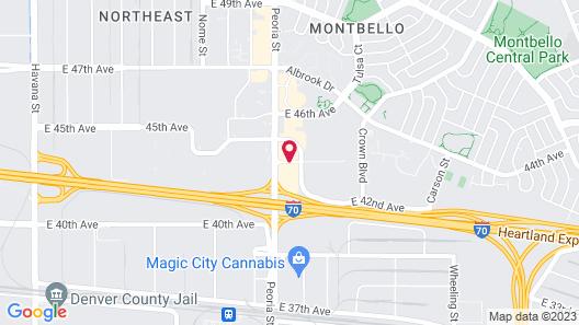 La Quinta Inn & Suites by Wyndham Denver Gateway Park Map