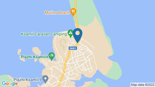 Hotel Heksamil Map