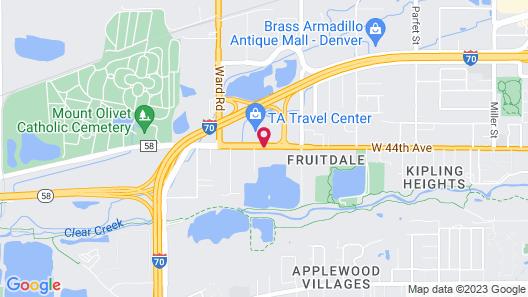 Howard Johnson by Wyndham Denver West Map