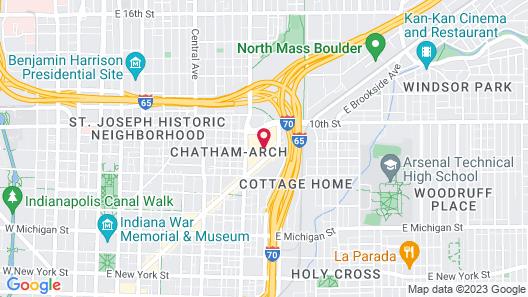 Bottleworks Hotel Map