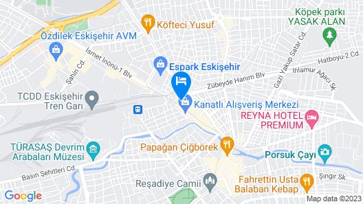 ibis Eskisehir Map