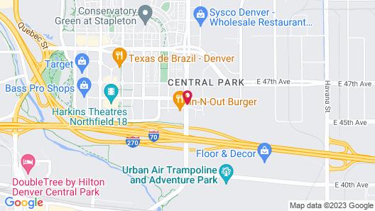 Drury Inn & Suites Denver Central Park Map