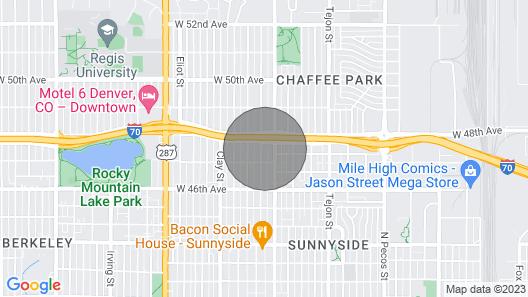 Loftium | Cozy 2 Bed Suite in Quiet Sunnyside Neighborhood! Map