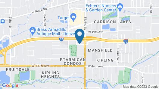 Holiday Inn Express & Suites Wheat Ridge-Denver West, an IHG Hotel Map