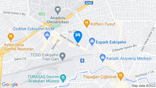Capella Otel Map