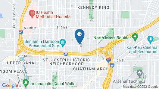 Stone Soup Inn Map