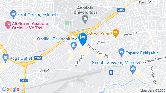 Hilton Garden Inn Eskisehir Map