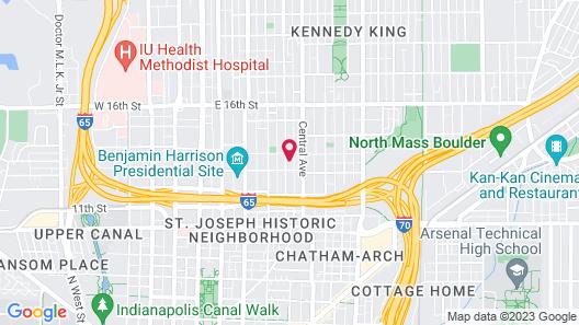 Looking Glass Inn Map