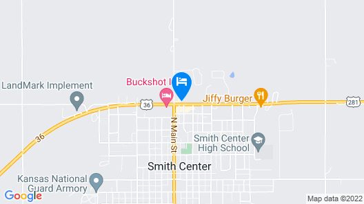 US Center and Longterm Stay Apartments Map