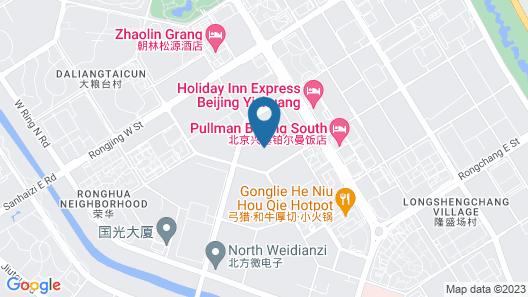 Pullman Beijing South Map