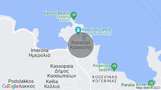 Villa Loukas (3 Bedroom, Sleeps 6)  Map