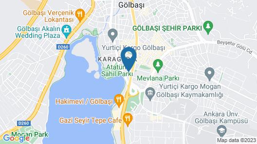 Pak Otel Map