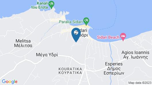 Panorama Sidari Map