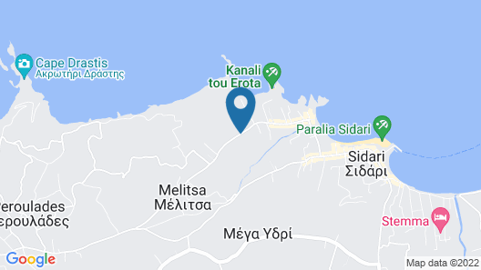 Corfu Palmar Hotel Map