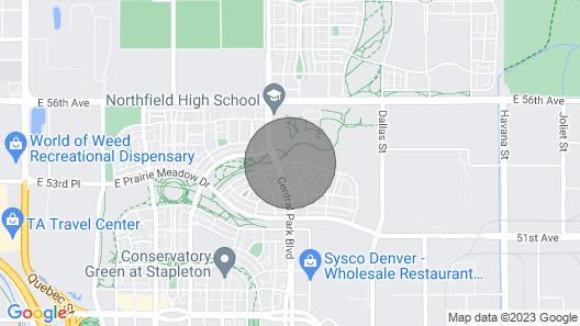 New Duplex at Stapleton Map