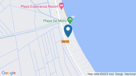 Villa Marta Map