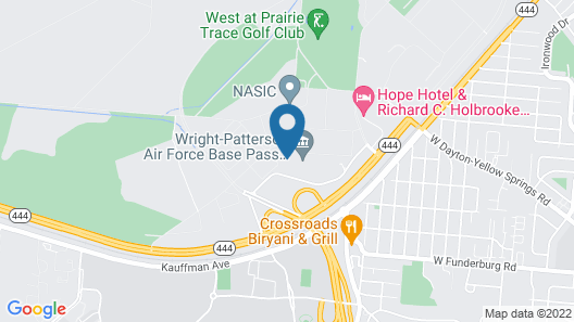 The Hope Hotel and Richard C. Holbrooke Conference Center Map