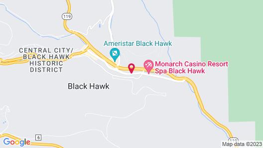 Lady Luck Casino Black Hawk Map