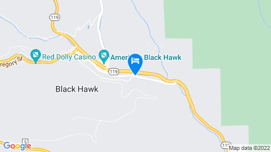 Isle Casino Hotel Black Hawk Map