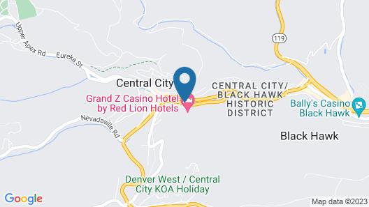 Grand Z Casino Hotel Map