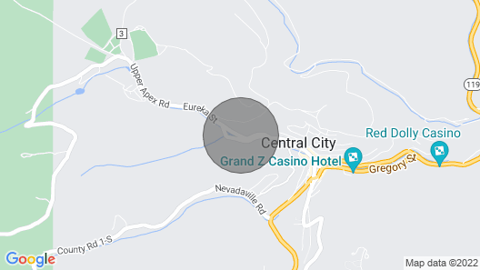 Cozy Home W/deck & Mountain Views, Walk to Casinos Map