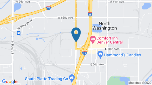 Super 8 by Wyndham Denver Central Map