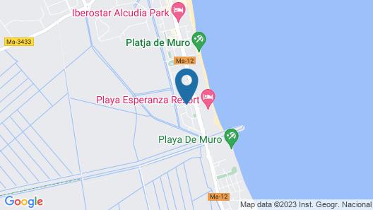 Prinsotel La Dorada Map