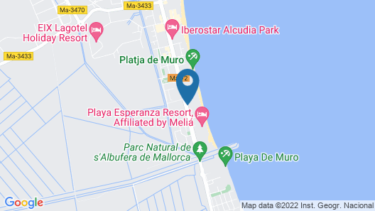 Iberostar Selection Playa de Muro Village Map