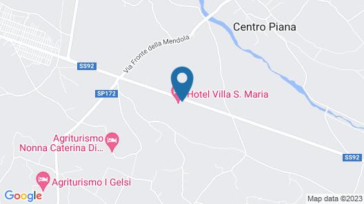 Hotel Villa Santa Maria Map