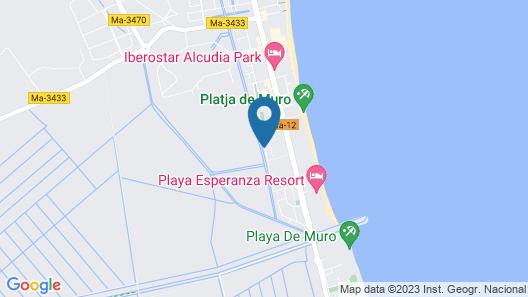 VIVA Blue & Spa Map