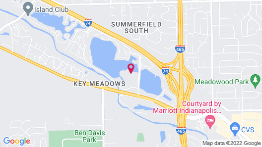 Ramada by Wyndham Indianapolis Speedway Map