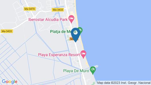 Iberostar Playa De Muro Map