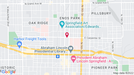 Carpenter Street Hotel Map