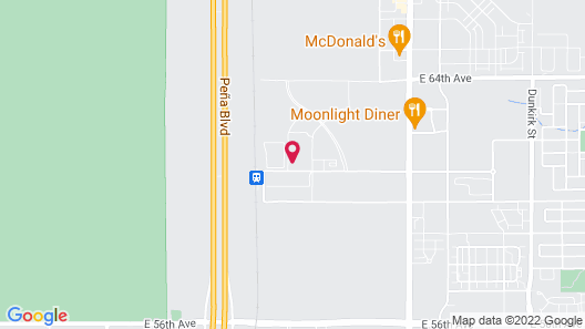 Hyatt Place Peña Station/Denver Airport Map