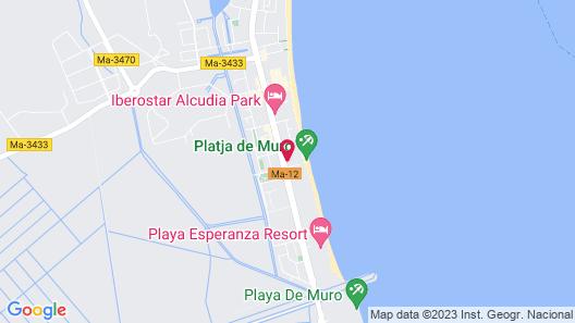 Aparthotel Ses Fotges Map