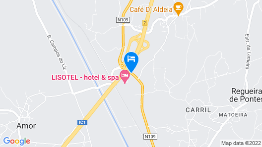 Lisotel Map