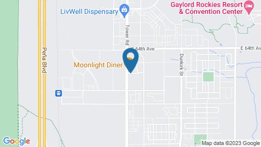 Ramada by Wyndham Denver International Airport Map