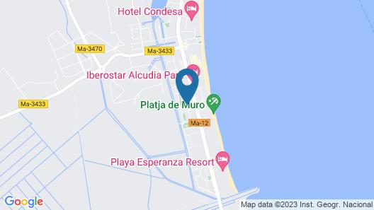 Grupotel Alcudia Suite Map