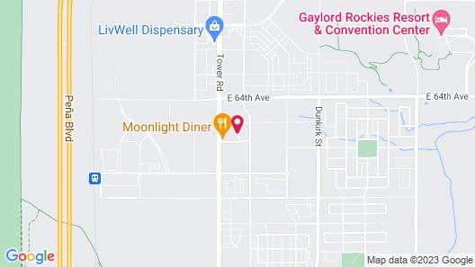 Microtel Inn by Wyndham Denver Map
