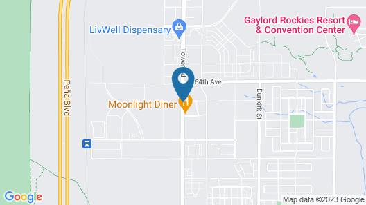 Hampton Inn Denver-International Airport Map