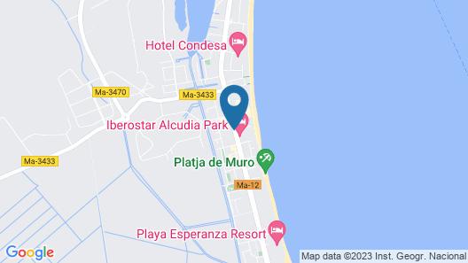 Hotel JS Alcudi Mar Map