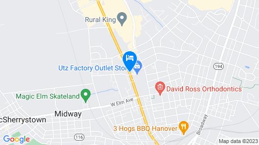 Clearview Motor Inn Map