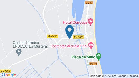 Hotel Rei del Mediterrani Palace Map