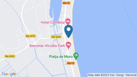 Grupotel Los Príncipes & Spa Map