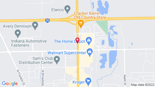 Country Inn & Suites by Radisson, Greenfield, IN Map